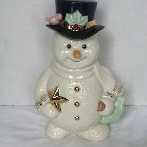 Lenox Holidays Snowman Jolly Snow Friend